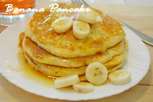 Banana Pancakes Recipe / Healthy Breakfast Ideas