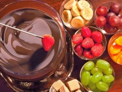 Fondue Gelado de Chocolate