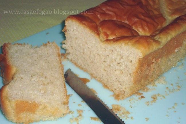 Pão de forma caseiro que não precisa amassar