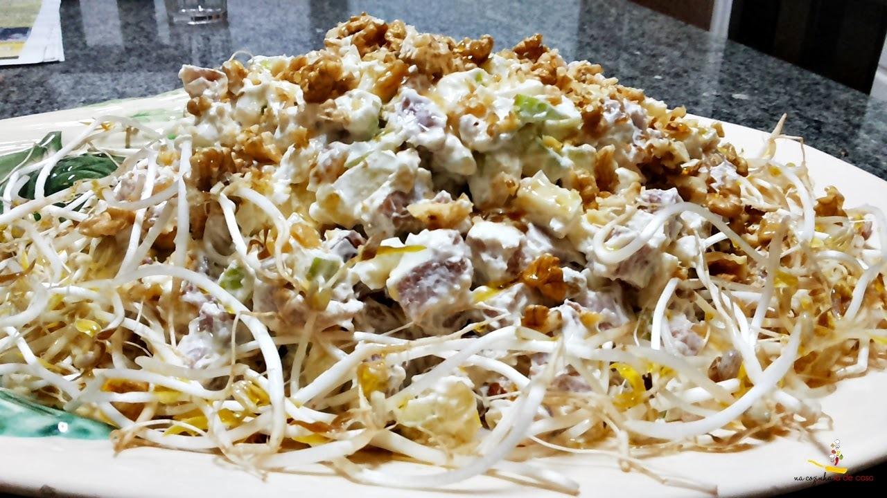 Salada de Maça Verde com Tender