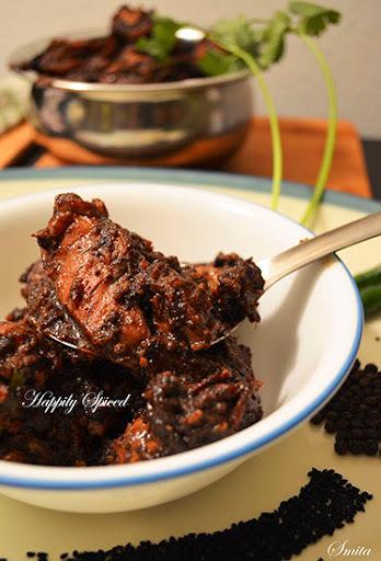 Peppery Black Chicken / Kali Murg