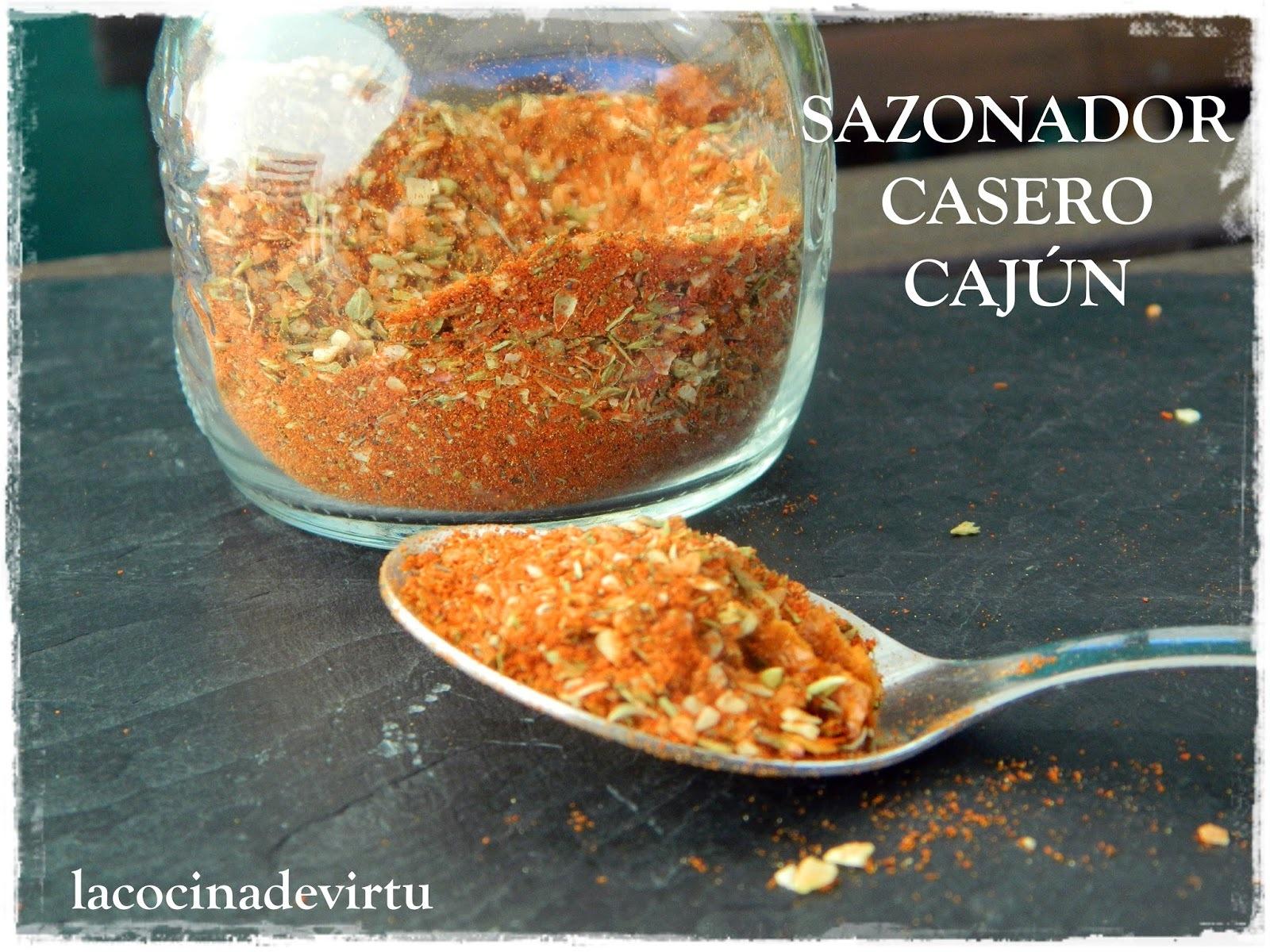 SAZONADOR CASERO CAJUN