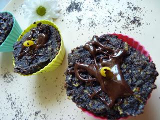Almás-mákos muffin - Paleo