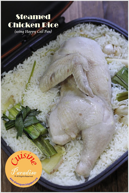 Chicken Rice Using Happy Call Pan