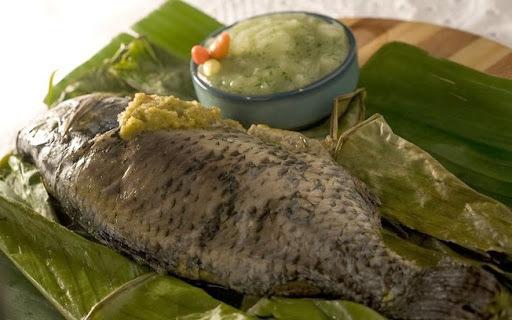 de moqueca de peixe tilapia