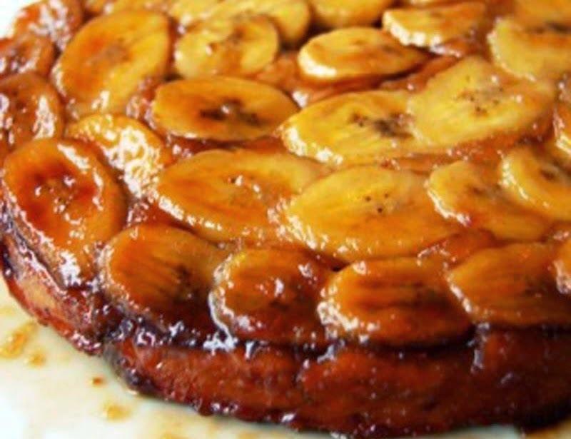 Torta Bolo de Banana