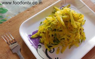 Popaya No Sambharo-Indian Gujarati Food and Recipes