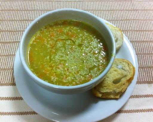 Uma sopa para aquecer o dia