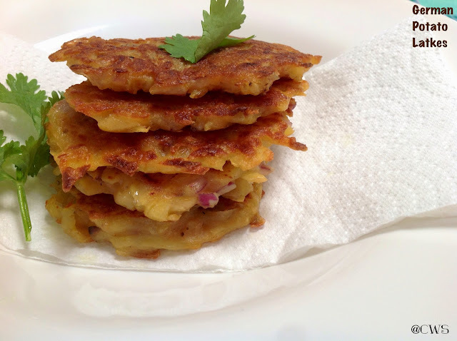 German Potato Latkes