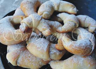 Croissant Recheado Doce