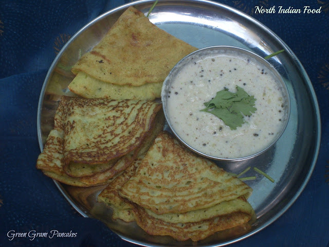 Green Gram Pancakes | Moong Dal Ke Chille | North Indian Recipes