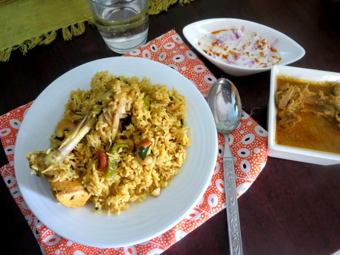 chicken biryani in marathi