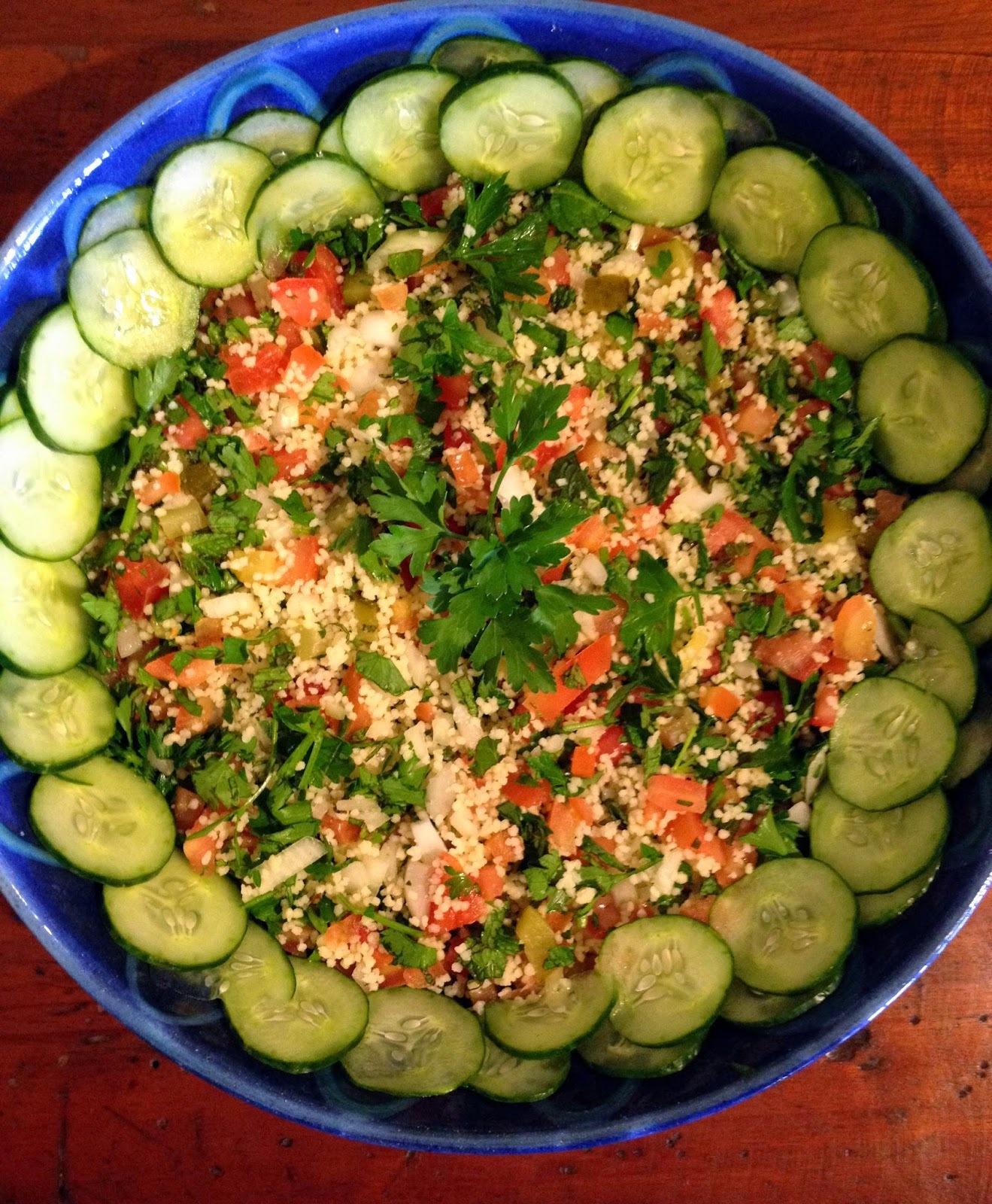 Para quem gosta de salada mediterrânea - Tabule