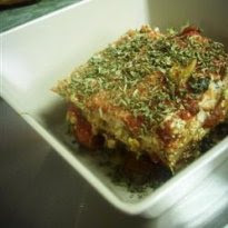 Lasanha Vegetariana com Tofu