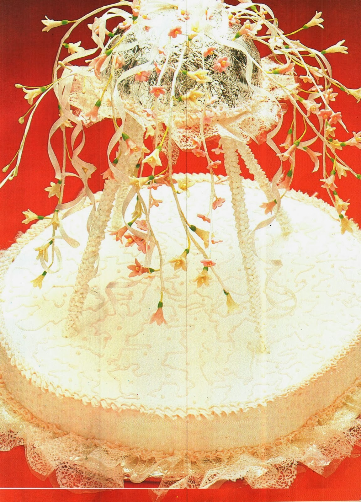 forma para fazer renda de açucar para bolo