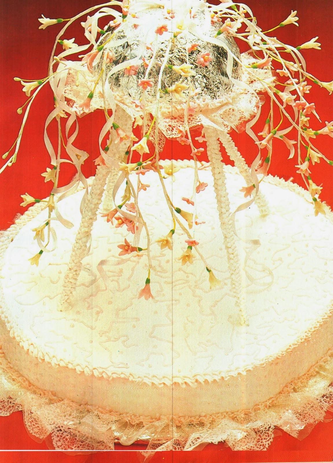 como fazer renda de açucar para bolo