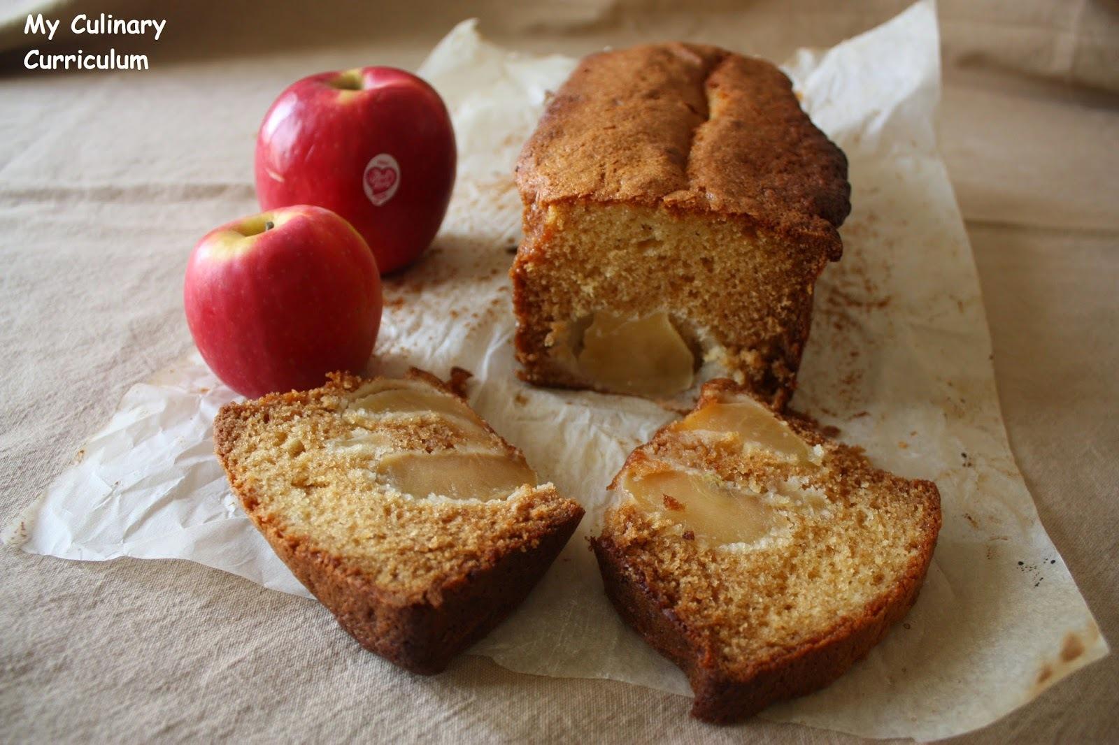 Gâteau aux pommes et au miel (Appel  and honey cake)