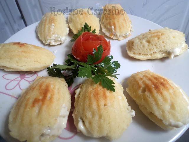 pate de abacaxi com frango e creme de leite