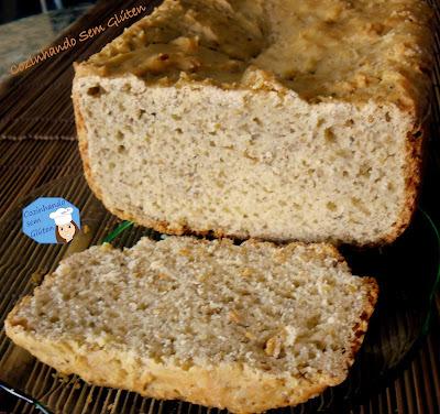 pão integral sem gluten fecula batata