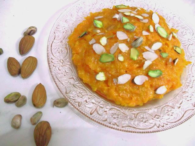Low Fats Creamy Gajjar Ka Halwa