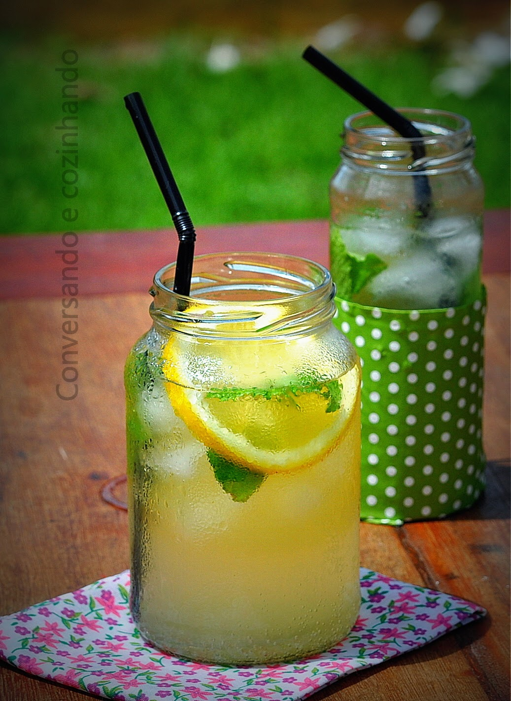 Refresco de limão siciliano...