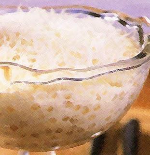Receita de sagu de coco