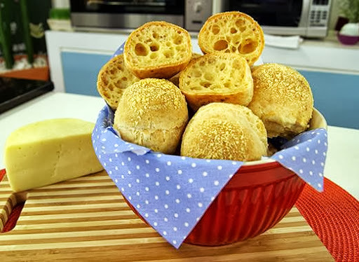 polvilho doce azedo queijo parmesão queijo minas