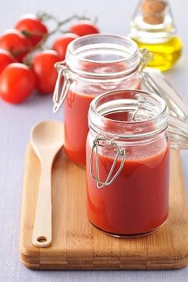Salsa de tomate para tostadas