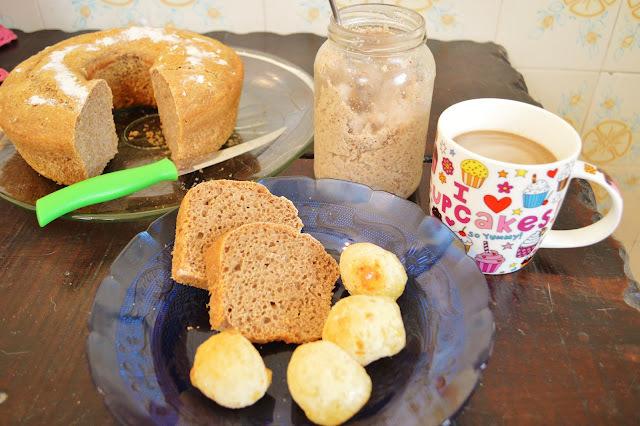 Pão caseiro fácil de fazer sem sovar