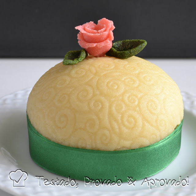 de pasta americana caseira para cobertura de bolo