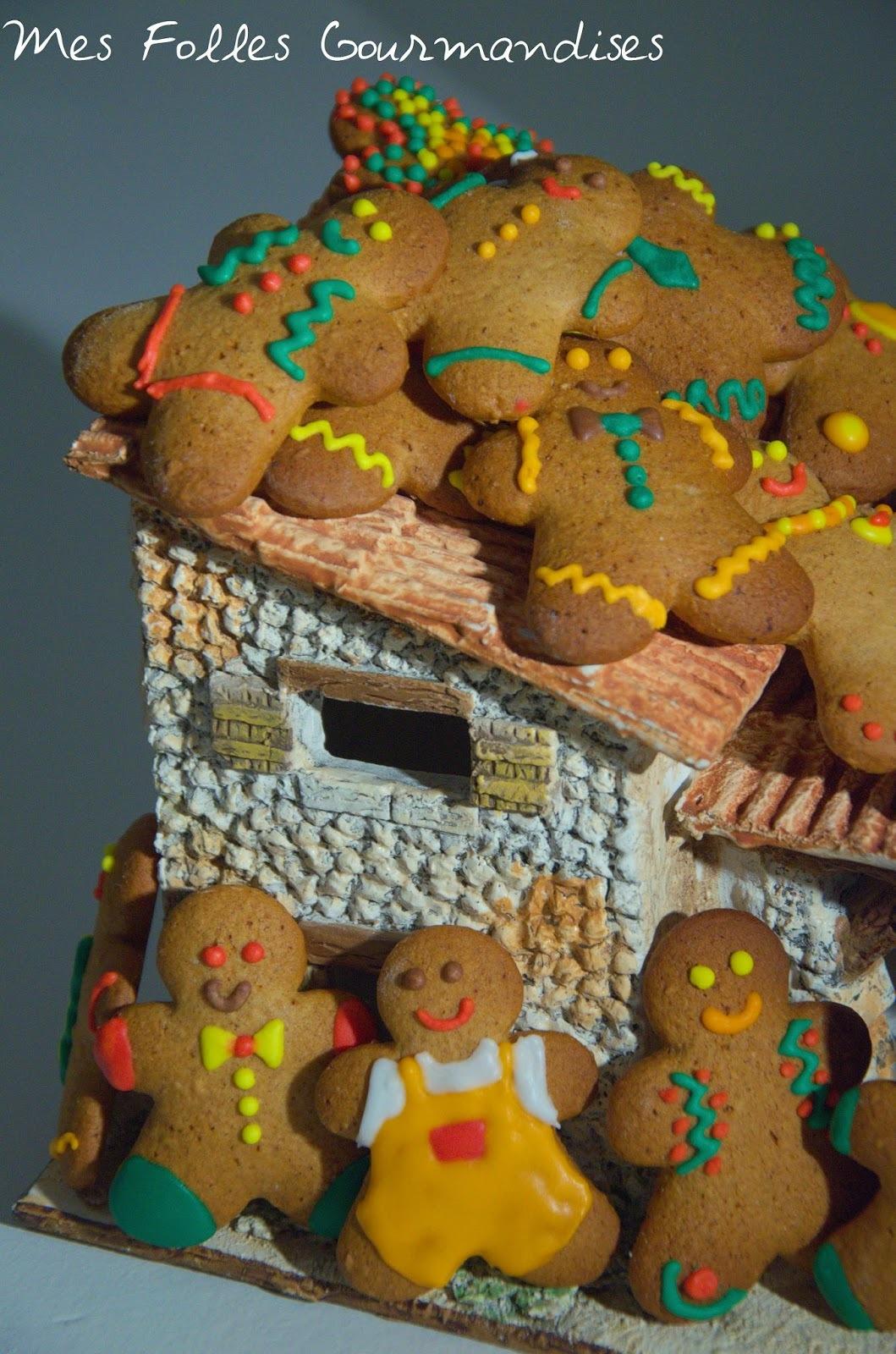 Les biscuits en pain d'épice de Christophe Felder