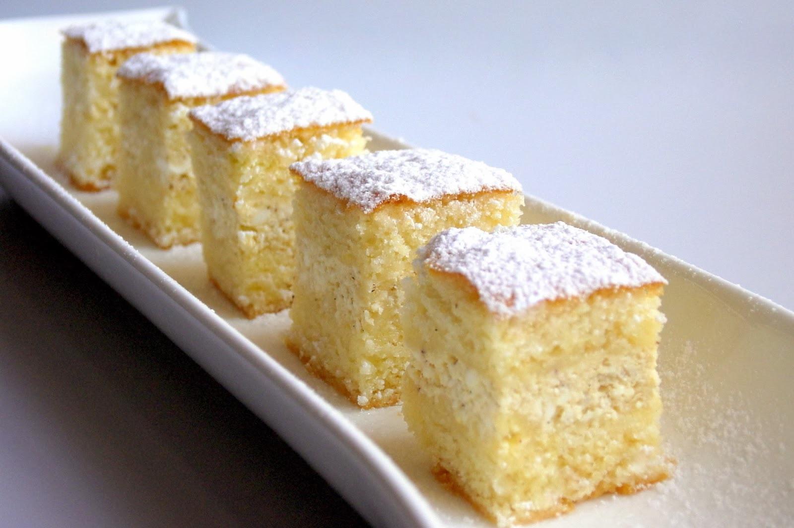 Egyszerű túrós sütemény