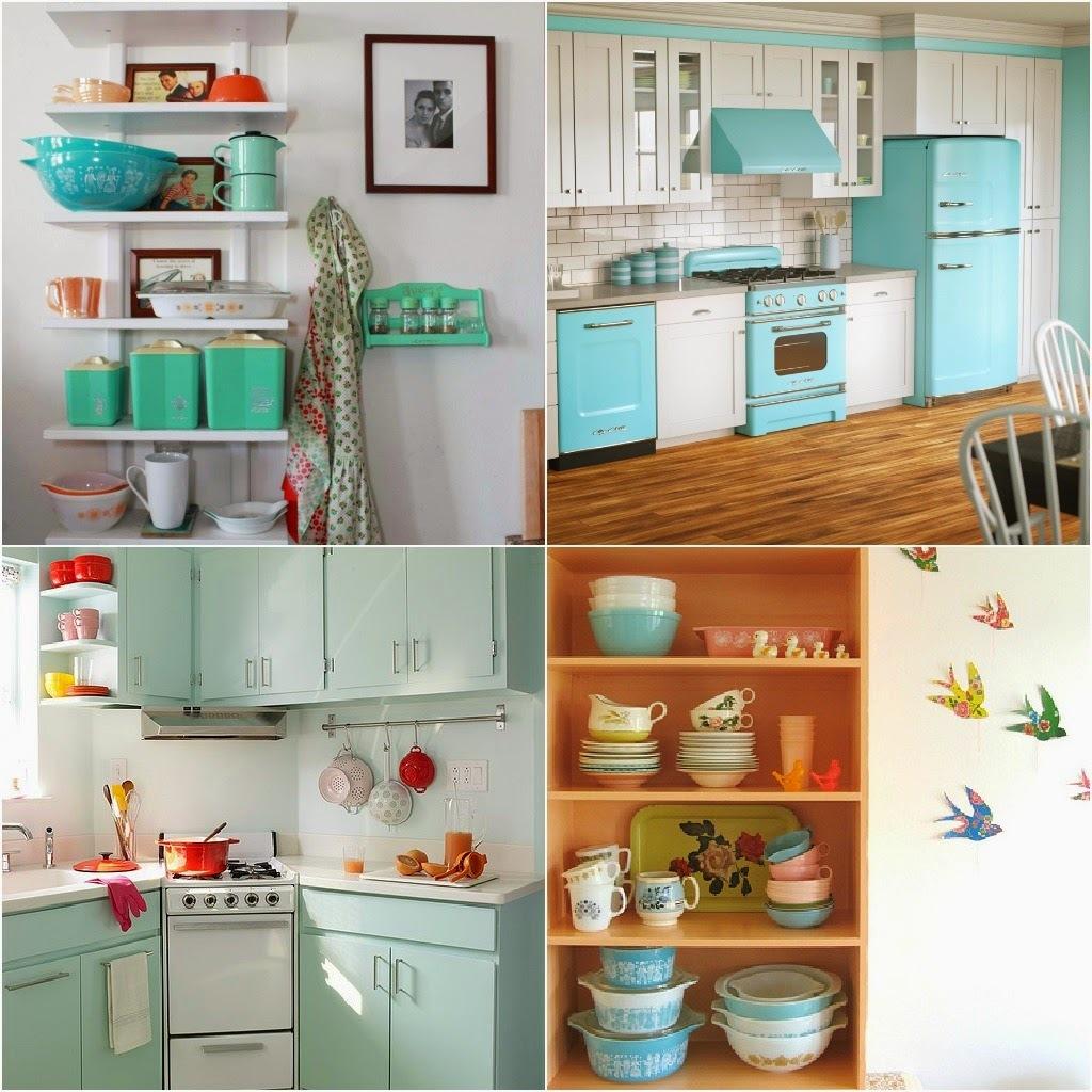 7 dicas de decoração para ter uma cozinha retrô e colorida