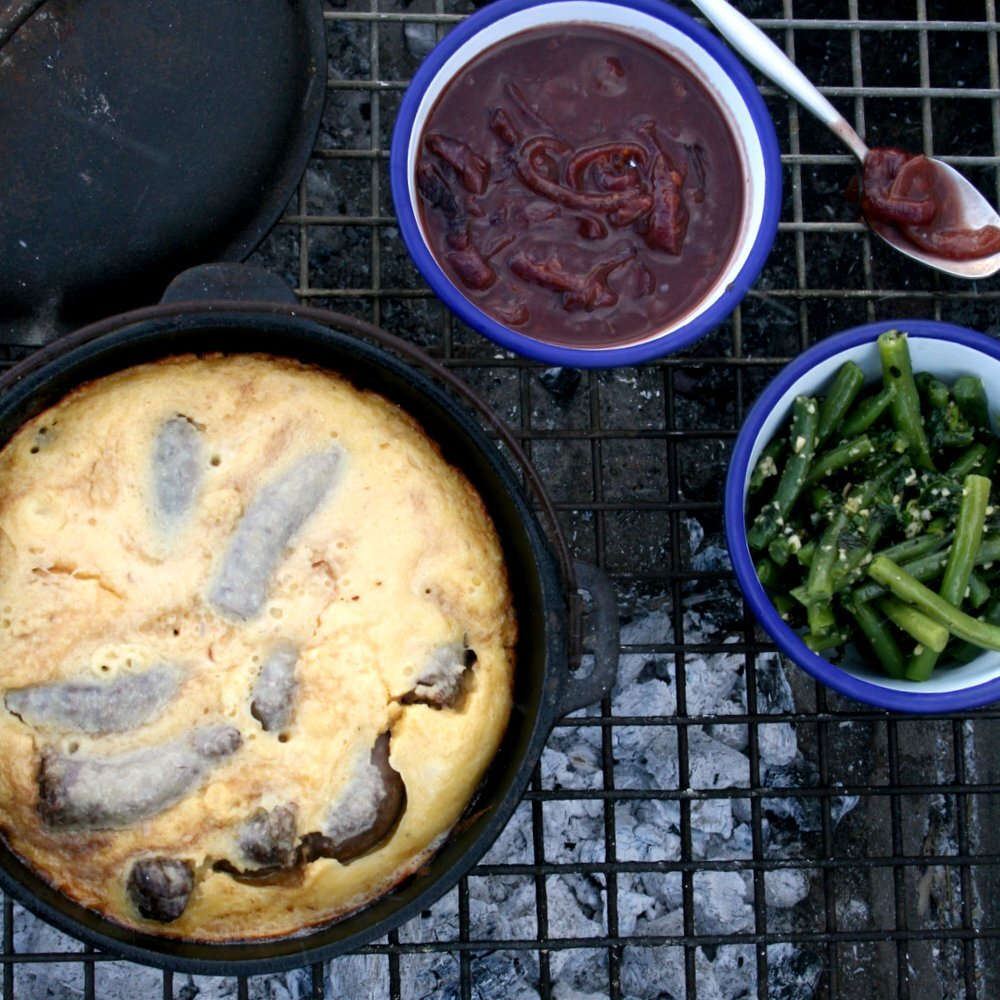 Toad-in-the-Hole - South African style!