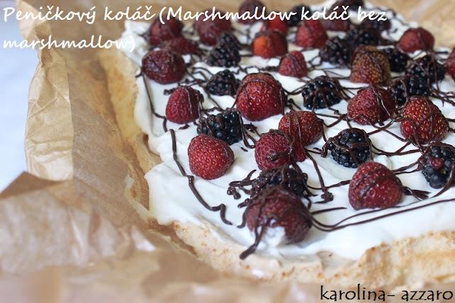 Peničkový koláč (Marshmallow koláč bez marshmallow)