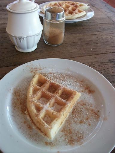 waffle light receita