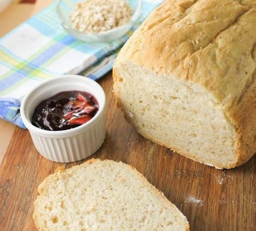 Pão Proteico com Quinoa