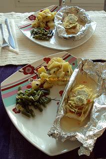 Filete de pescado au jus de citron épicé