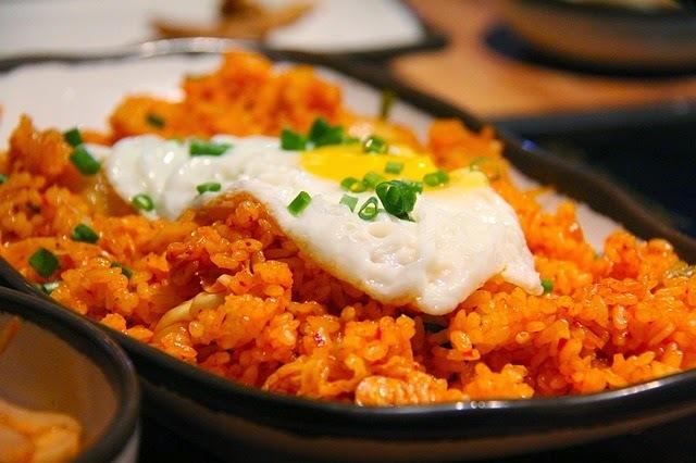 receta de kimchi con arroz frito