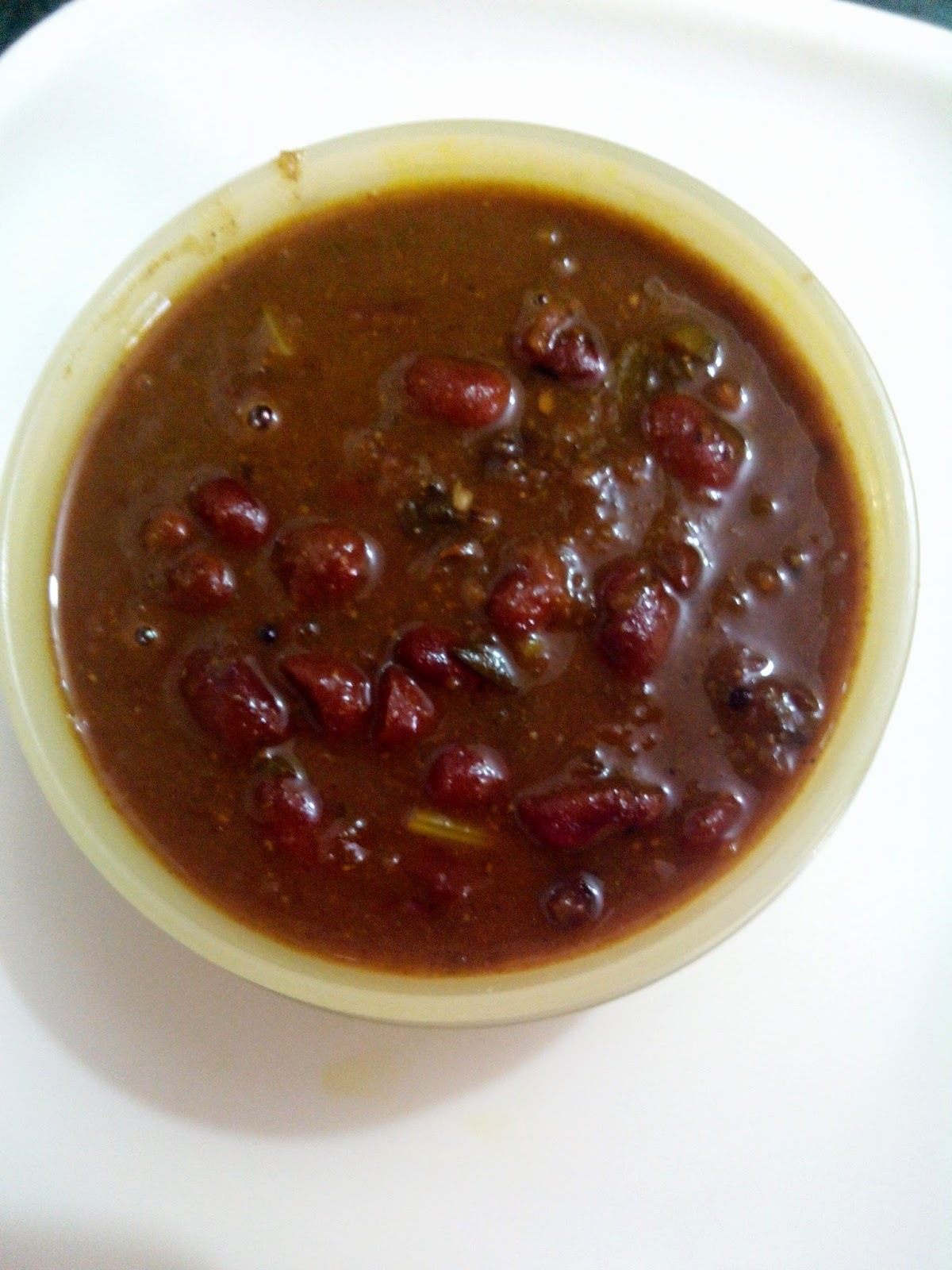 Punjabi Rajma Masala (Kidney bean curry)
