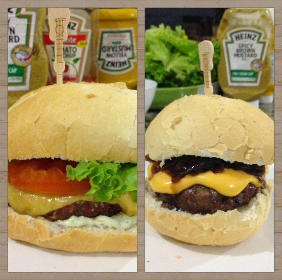 Noite de Hambúrguer com amigos: receita tradicional e de linguiça Blumenau