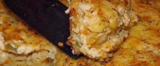 Torta de Legumes, Frango e Queijo