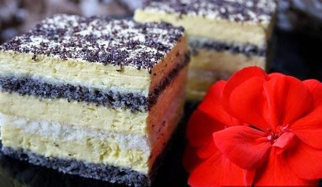 MILKA KOCKE S MAKOM: Ako ste ljubitelj kremastih kolača...