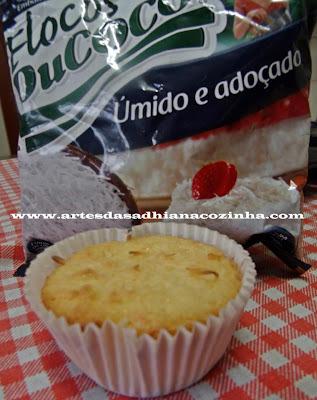 Queijadinha Ducoco ( deliciosa Receita da Léia )