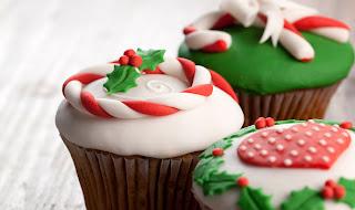 Decoração De Cupcakes Para O Natal