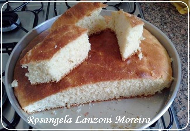Eu testei receita do blog, Rosangela Lanzoni Moreira: Pão de assadeira sem sovar a massa