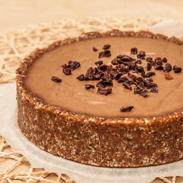torta de mouse choco-caramelo