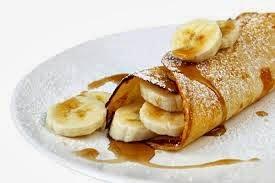 Receita de Omelete Doce de Banana, Canela e Mel
