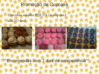 Promoção de Cupcakes