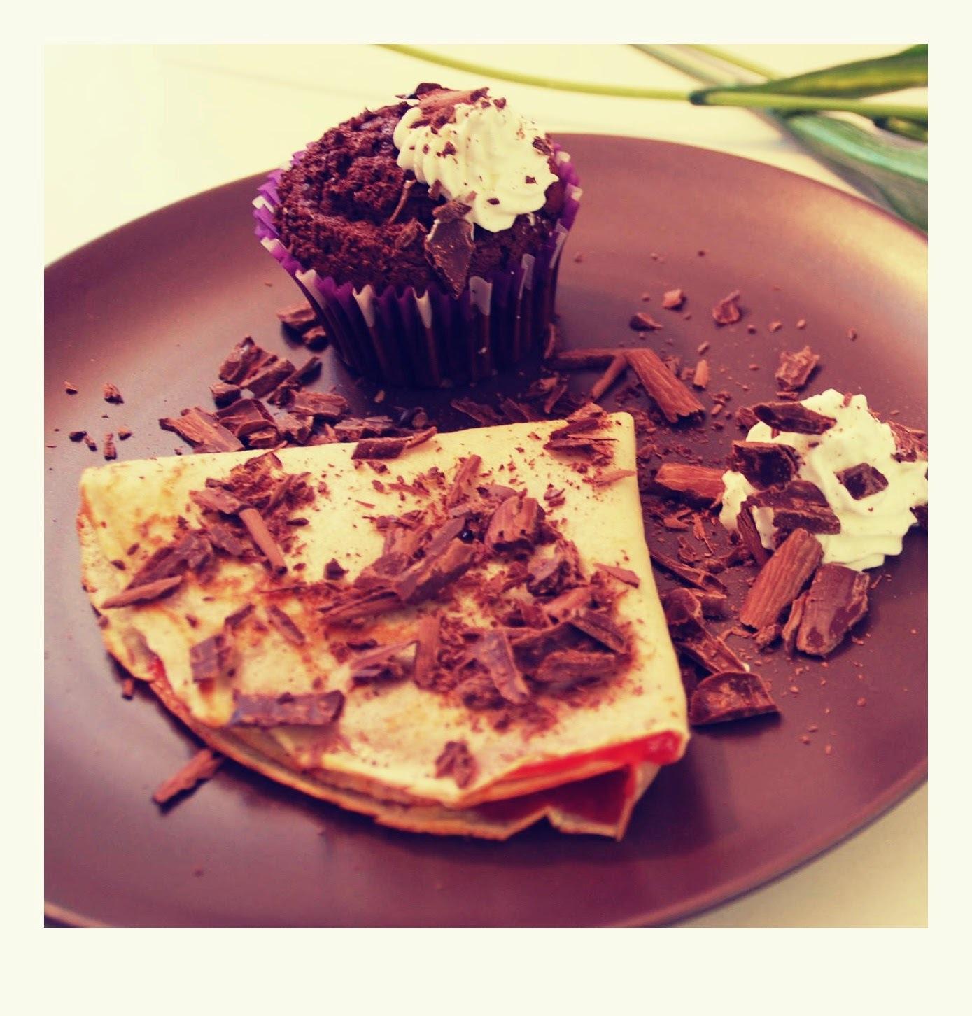 Nutelové cupcakes